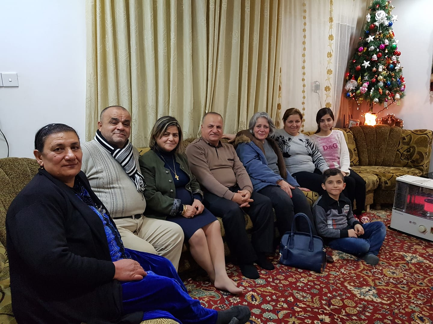 This is how the home looked after the rehabilitation work funded through the Presbyterian Church in Kirkuk was completed.