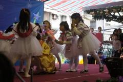 Christmas celebration at Faith and Light Kindergarten