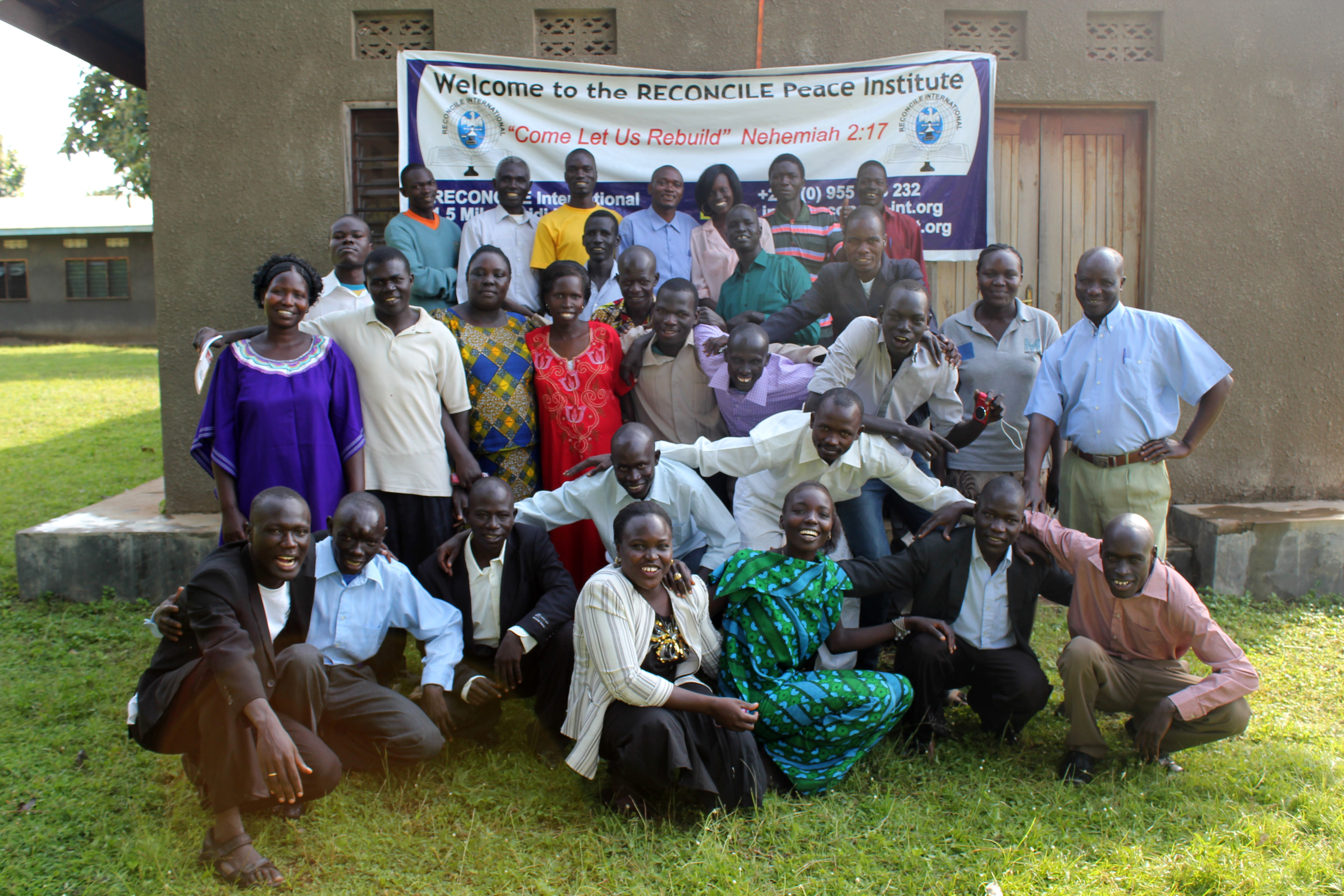 RECONCILE Peace Institute Students in Yei, South Sudan.