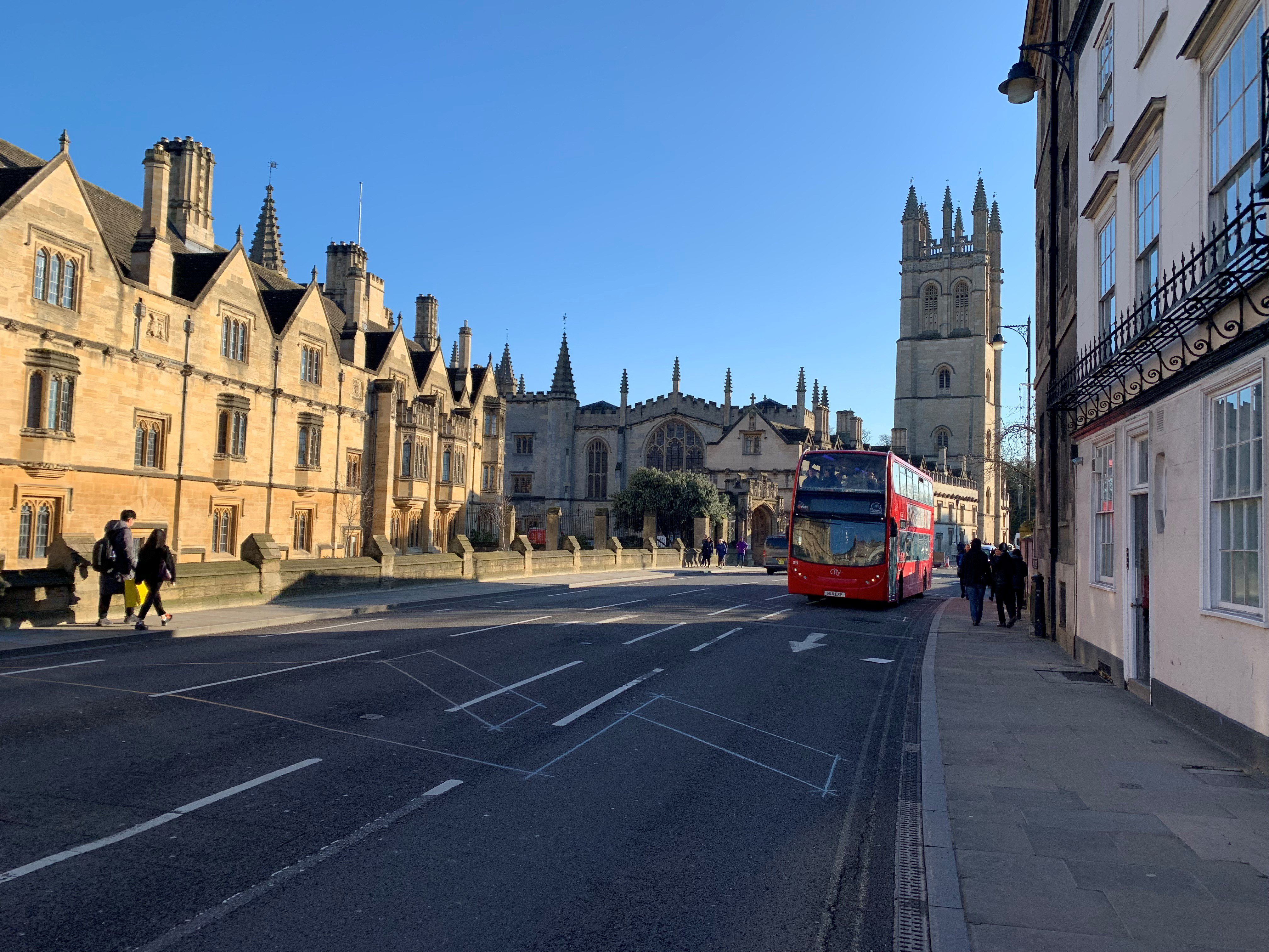 Oxford, England, our newest home.
