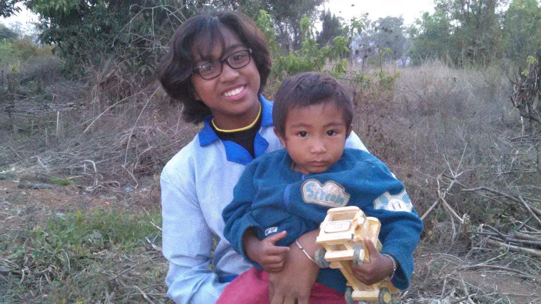 My neighbors, Pastors Benza and Ari's youngest children