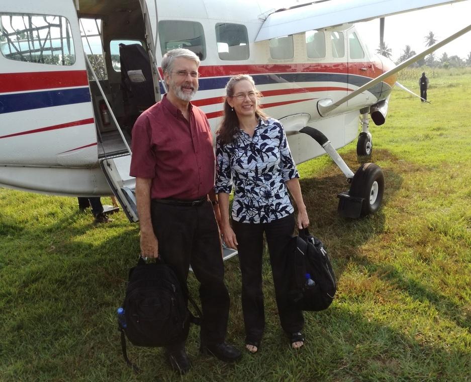 Leaving Ilebo to visit Dekese Health Zone.