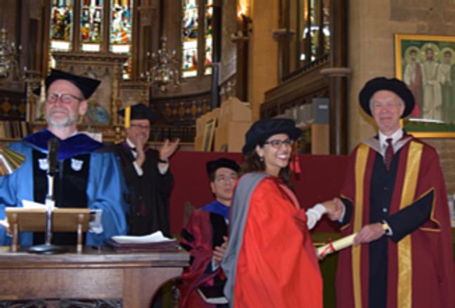 OCMS graduation.