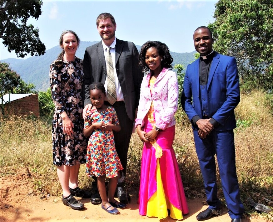 Worshiping and visiting with Rev. and Mrs. Kamanga was a highlight of the trip.