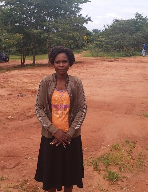 Mary Nkhoma, a student minister from Zambia being trained at the University of Livingstonia.