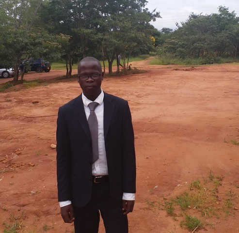 Gideon Lundu, a student minister from Zambia being trained at the University of Livingstonia.