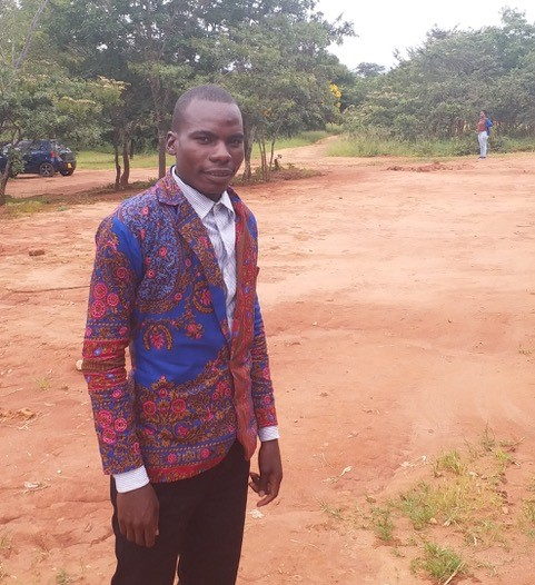 Edwin Nyirenda, a student minister from Zambia being trained at the University of Livingstonia.