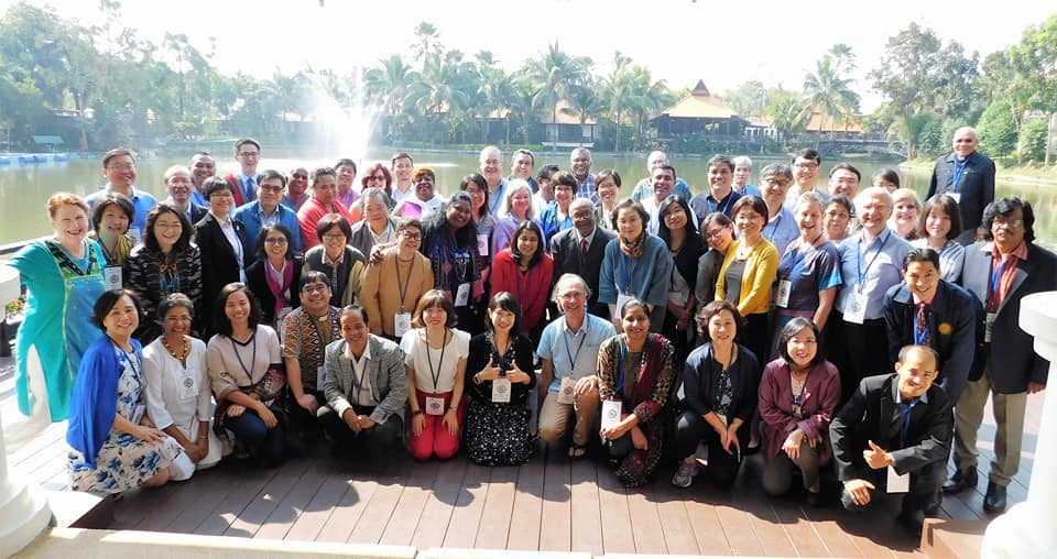 PC(USA) mission partners from across the Asia and Pacific area in Chiang Mai, Thailand.