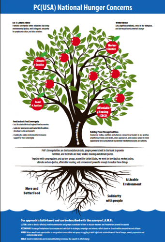 PHP national work in tree graphic