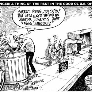 cartoon about hunger being renamed