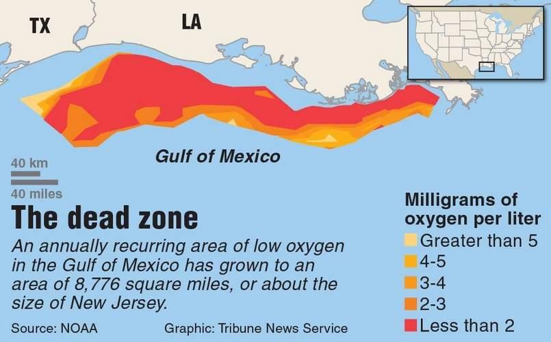 dead zone map
