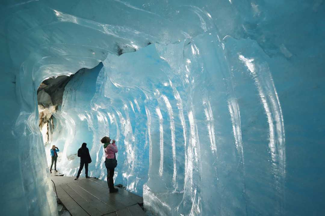 glacier tunnel