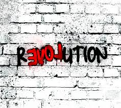 Revolution with LOVE in the middle