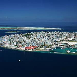 maldives island sinking