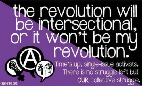 revolution will be intersectional