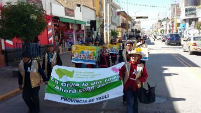 La Oroya demands health
