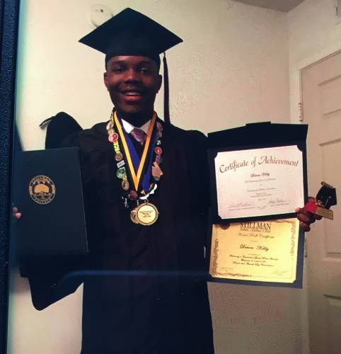 Devon graduates from Stillman College