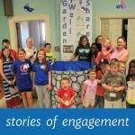 "Children at well - ""stories of engagement"""
