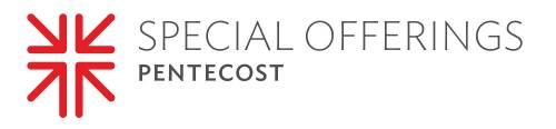 Pentecost Offering logo