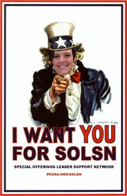 Sally wants YOU!
