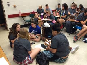 Triennium youth talk EJ small group