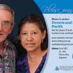 Dennis and Maribel Smith Prayer Card