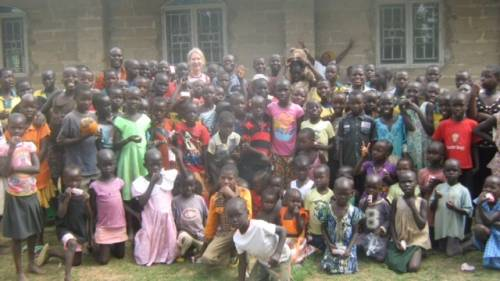 Mama Lou loved singing with the Sunday School children on Easter
