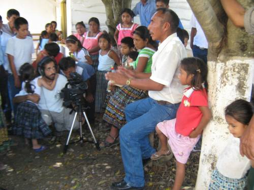 Vittorio Pilone works with a Q'eqchi' community in Guatemala to document how God is present in their traditions