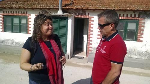 Rev. Sandra Reis with Wertson