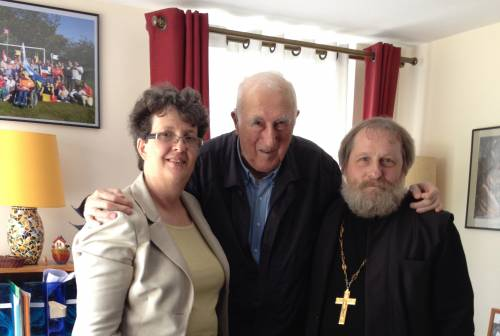 Father Vladimir, Jean Vanier and myself