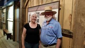Visit to local museum with Karen Gill
