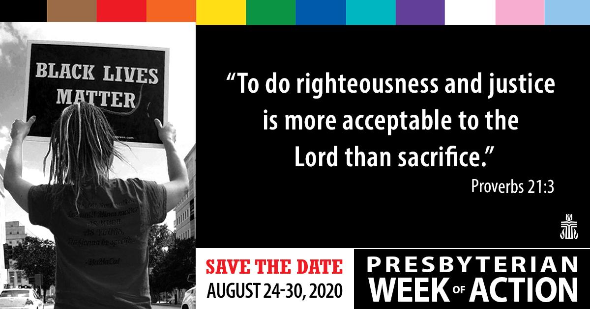Presbyterian Week of Action : Black Lives Matter