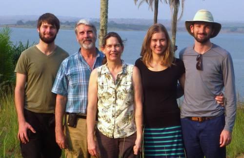 Family vacation at Lake Mukamba, Summer 2015