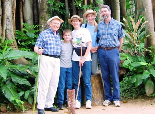 Remembering times with Dad at Kisantu Botanical Garden, DRC