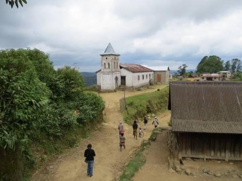 The FJKM church at Ambohimitombo