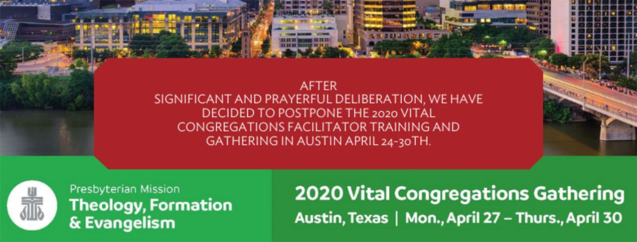 Vital Congregations Gathering promotional image