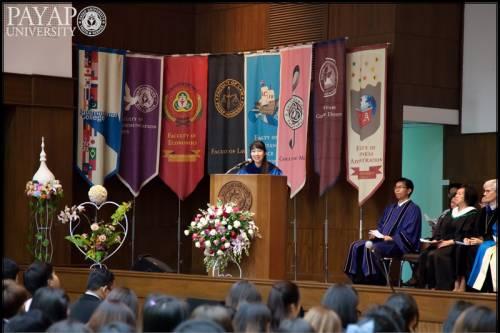 Dr. Oan encouraging students that God loves them