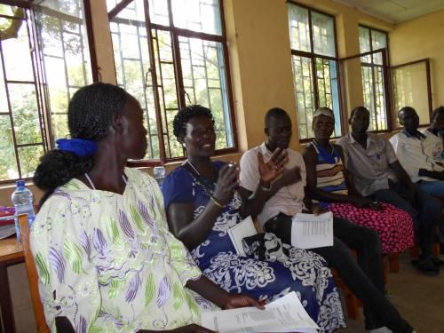 Ariet Philip facilitating training of trainers