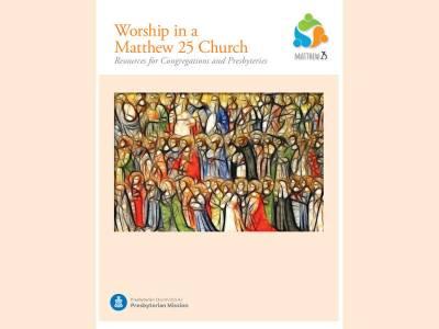 Worship in a Matthew 25 church cover