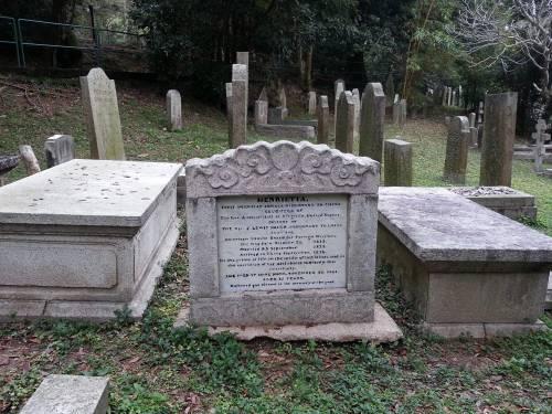 Protestant Cemetary, Henrietta tombstone